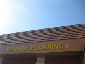 Family Planning storefront